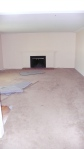Dining Room. Carpeted.  NO lights!  No portals to other rooms!  Great space, but needed a bit of work.